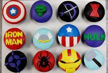 """Superheros theme Party ideas / Ideas for superhero theme party """"The super party"""" / by Hana chiaki"""