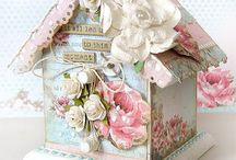 Shabby Bird Houses and Cages / by Teresa Noah-Brown