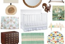 baby stuffs - adventure nursery / by Whitley Pollet