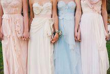 Pretty Maids All In A Row / by Coquette + Dove | The Coquette Bride