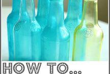 Tinted Bottles / by Nancy Hawkins