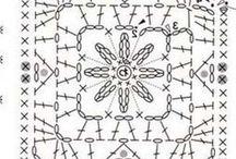 cuadrados crochet / by Alfalfa Accesorios