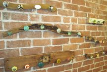 Knobs for hanging things / by Vicki Vares