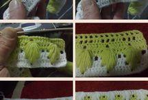 Crochet/knit motives patterns techniques / by Froukje van Aalst