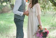 Vintage hippie wedding / by Bella Bee Weddings