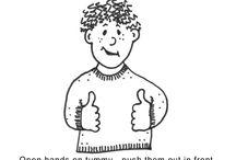 ASL / American sign language / by Ronda Hain