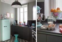 belles cuisines - beautiful kitchen / by scandimagdeco