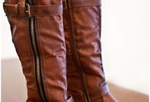 Shoes and boots / by Tina Marsh