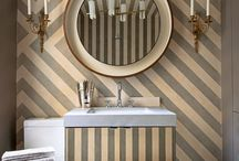 Interiors - Powder Rooms / by Jeanne Griffin