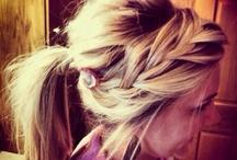 Hair Ideas  / by Tiffany Preece