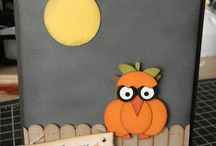 Halloween card / by Rebecca Garrett