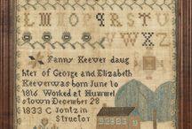 Cross Stitch - Samplers / by Cross Stitch