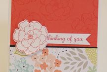 Stampin up cards / by Karen Beaupre