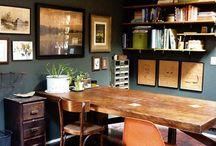 Vintage Inspired Workspaces and Libraries  / workspaces / by sparrowhaunt