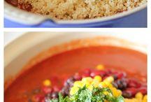 Vegetarian recipes  / by Rachel Kne