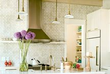 HOME: Kitchen / Ideas for the yummiest place in the house. This is where the magic happens! / by Stephanie @ Garden Therapy