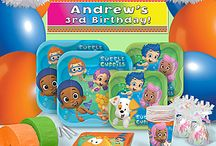 Bubble Guppies Party / Bubble Guppy party supplies / by Shindigz