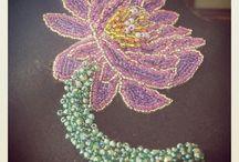 Custom Made Bead Embroidery Jewelry / by Palamuti by PJ Valenciano