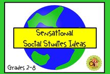 Sensational Social Studies Ideas / Here's a spot to find a new or creative idea for your social studies classroom! Pinning rules: Pin 3 free resources or ideas for every paid item please (one per day). Thanks! / by Peanut Gallery