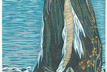 Lino Block Prints / by Chelsey