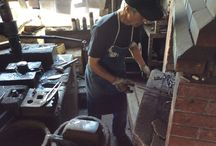 Knife Making Videos / This board shows some of our best blacksmiths making knives. / by Chefknivestogo