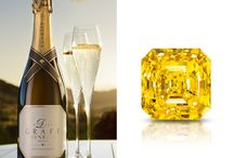 DELAIRE GRAFF SUNRISE BRUT / The first vintage of Delaire Graff Sunrise Brut launched today at Graff's wine estate in South Africa at Delaire Graff Estate, inspired by the Loire and named after Graff's famous Delaire Sunrise diamond  / by Graff Diamonds