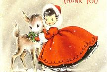 Old christmas cards / by David W Marks