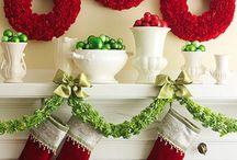 Christmas/Winter decor / by Diana Scholz