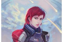 Mass effect  / All three games / by anna camp