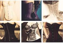 corset training/corsets / by Desiree Miller