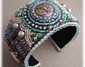 Beads -  Embroidery Cuffs & Bracelets / by Gail Smith