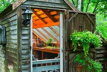 Garden sheds and enclosures / by Boise Flower & Garden Show