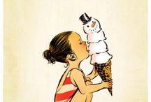 Illustrations / by Kate Monskey