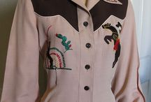 Cowgirls (and Cowboys) / Western fashion, mid-century style / by Tiddleywink Vintage