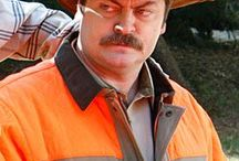 Ron Swanson / by Chris Browne