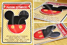 Mickey Mouse Party / by One Swell Studio - Cara McGrady