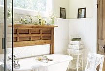 Bathroom - Natural and Neutral / by Joelle {StartsWithJ} Brisland