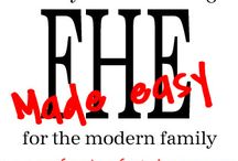 For the Family- and FHE lesson ideas / by Hailey Olaveson