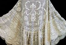 Vintage clothing, lace, stichery / Needle and thread eye candy / by Cathy Sutton