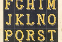 Lettering & typography / by Jacqueline Kriesels