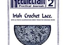 Crochet ~complete books and magazines / by Teresa Reddick