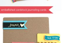 Journaling Cards / by Char Huffman