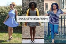 #FabFriday / Join our #FABfriday link up! We will display the theme on Fridays and you can link up with us and show us how you rock the theme. We choose a new theme each week. Happy linking! / by Jessica C. Andrews