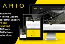 Inspiring Premium Web Themes / Web Templates  / by nick | huffo design