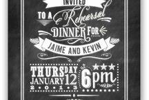 Wedding Invites / by Rachel Poulin