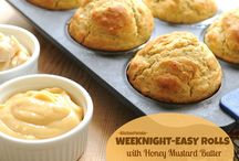My Bread Recipes  / by Alanna Kellogg | Kitchen Parade & A Veggie Venture