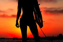 Cali✌️ surf beach and swim / Courage is everything♥️ / by DΊÑÊŸ FÄÑ♥️