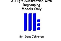 2nd math subtraction / by Darla Moore