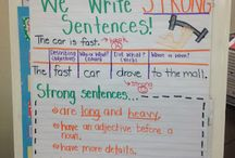 Writing - sentence to paragraph(s) / by Erin El