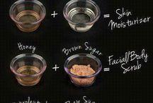 Home beauty tricks <3 / by Kayla Bell